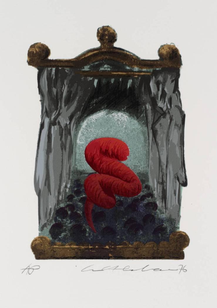 The Conqueror Worm 1976 by Ivor Abrahams born 1935